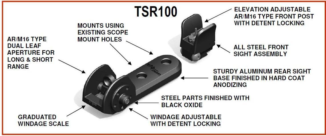 TSR100 STEEL