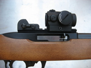 red dot side view