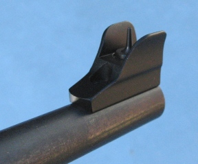 Front sight on non threaded barrel