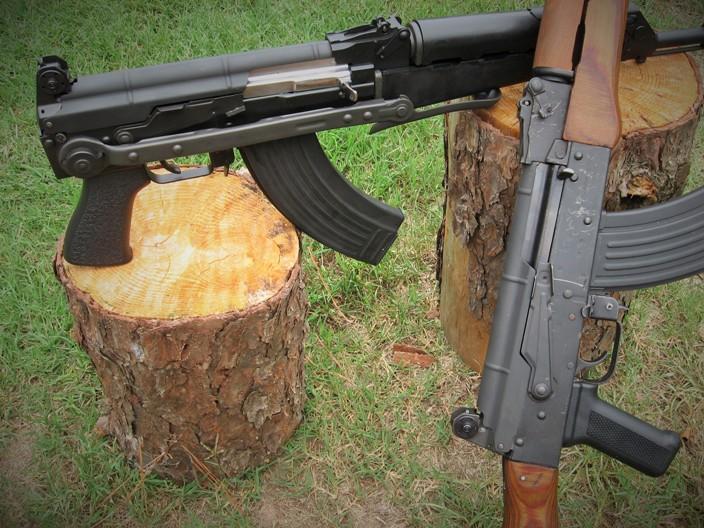 AK Rifle Sighting System