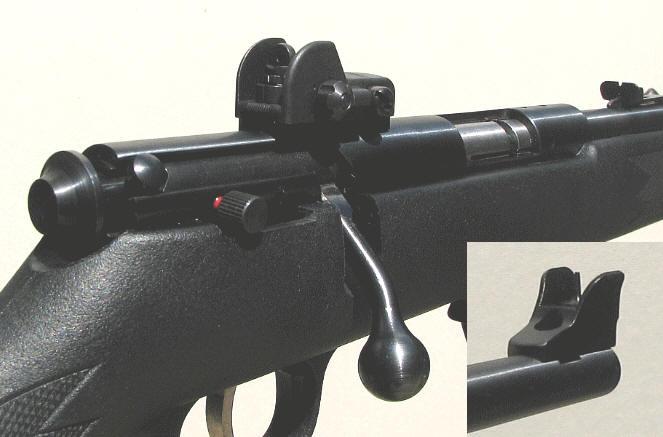 Savage Mark II Rifle Adjustable Aperture Sights