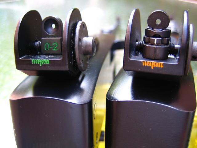Ruger 10/22 Adjustable Aperture Sights TSR100