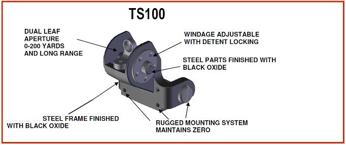 SKS TS100 steel base